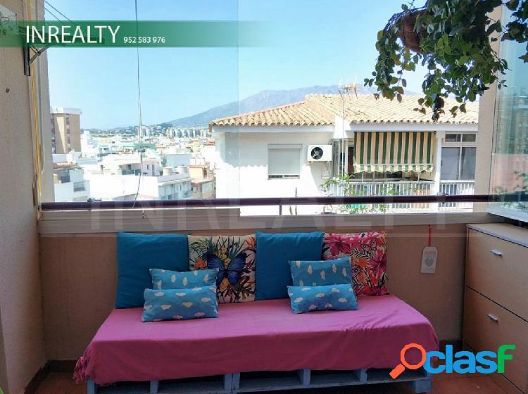 Inrealty inmobiliaria de fuengirola y mijas, vende apartamento en centro de fuengirola