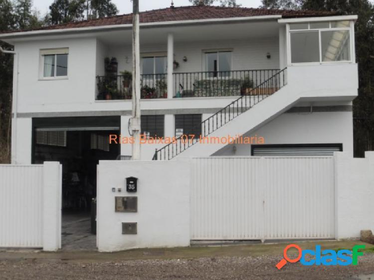 Ref 2430 casa + bajo comercial 331 m2 en terreno cerrado cerca vigo (gondomar)