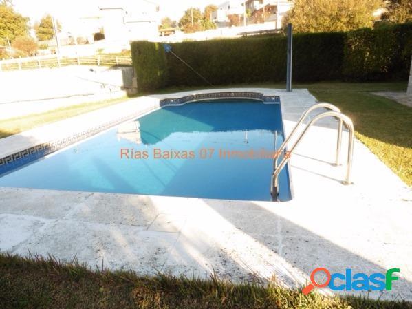 Ref 2508 chalet canteria con piscina en 660 m2 finca vallada (vigo)