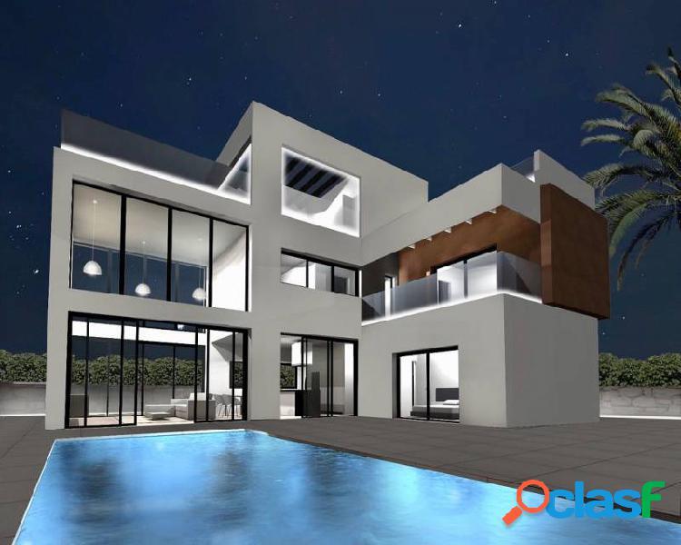 Villas estilo moderno de 3 dor
