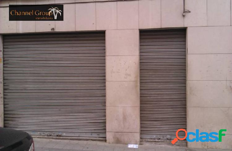 Se alquila local comercial en elche, zona plaza de madrid