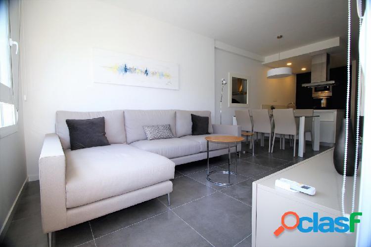Apartamento con vistas al mar en campoamor, orihuela costa, costa blanca.