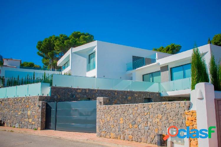 Venta villa estilo moderno benissa costa