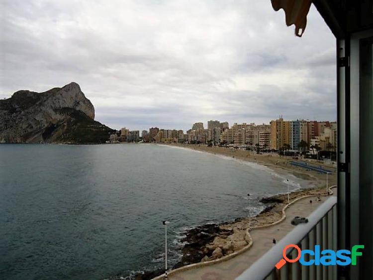 Bonito apartamento situado en primera línea del mar.