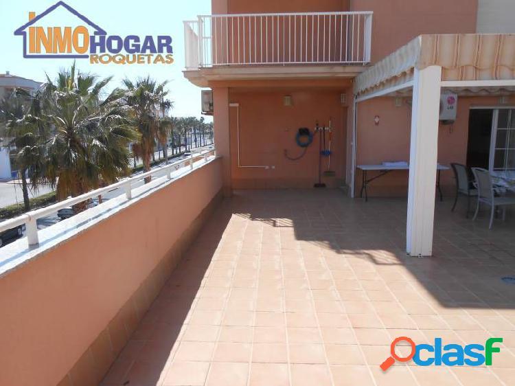 Piso con increible terraza. altas calidades. ubicación estratégica entre playa y todos los servicios