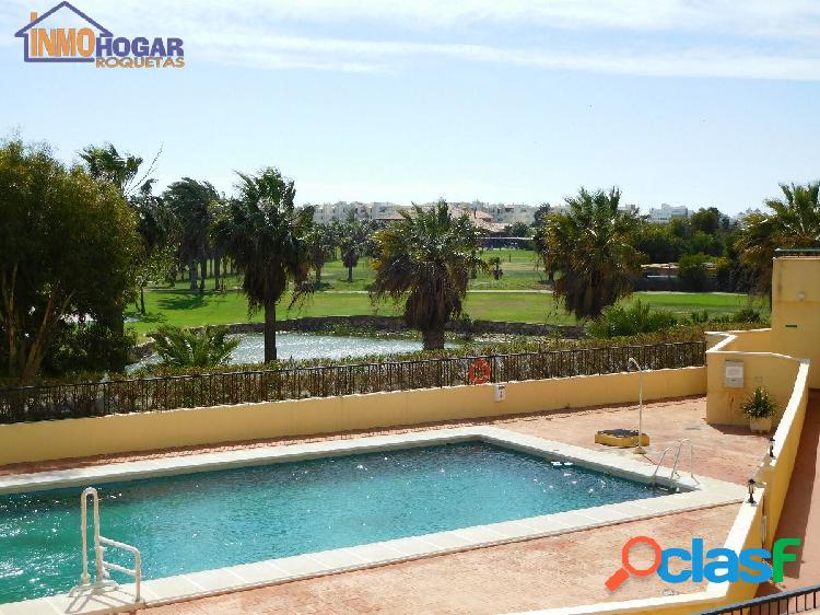 Luminoso piso 2 dor,terraza,piscina y garaje, ideal para tu relax en vacaciones