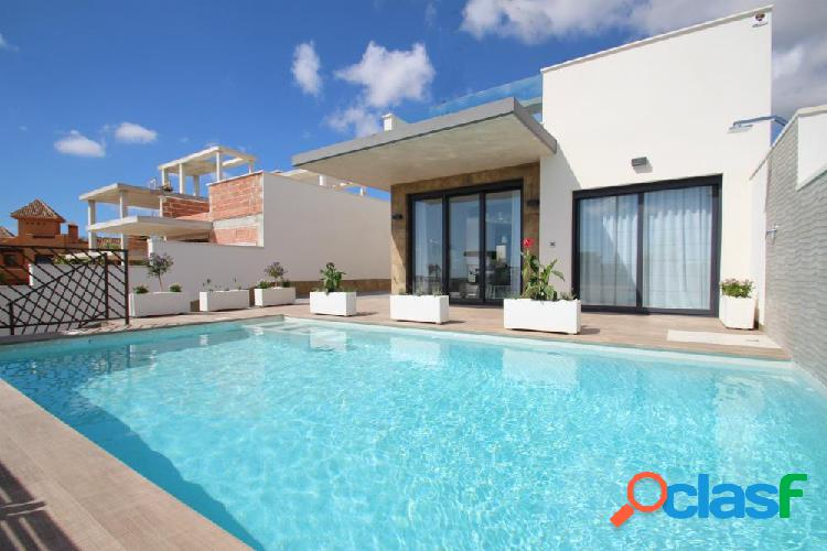Luxury villas located in the exclusive beach of campoamor, one of the most prestigious of orihuela c