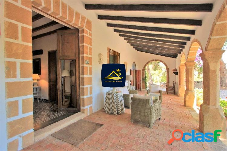 ▷ fincas mediterráneas en javea | 15.783 m2 · casa señorial · naranjos en producción | costa blanca