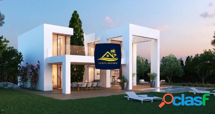 Villas de nueva construccion a 5 min de playa del arenal · cumbres del tosalet · javea