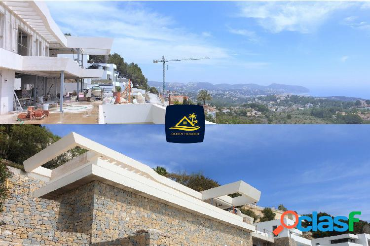 Exclusiva villa moderna con vistas al mar en moraira · benimeit | costa houses luxury villas moraira