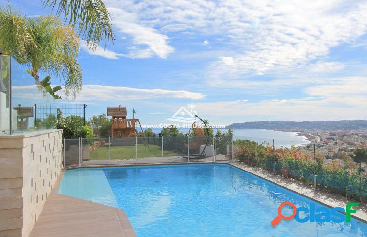 Minimal Luxury Villa Javea · Elegancia y Privilegiadas Vistas al Mar en la Prestigiosa urb LA CORONA 1