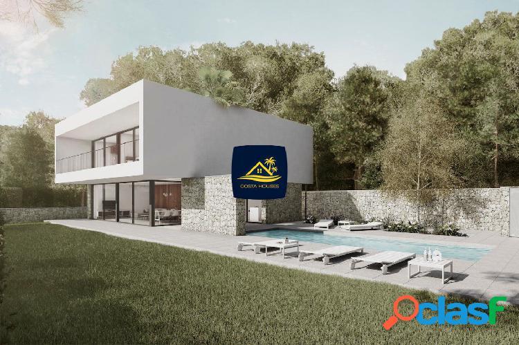 Nueva construcción · villa moderna con vistas al mar en benissa · la fustera | 3 dorm · 600m fustera