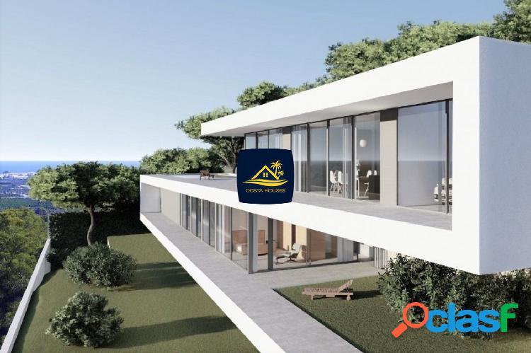 Villa vanguardista con vistas al mar en javea, piver | 4 dorm · nueva construcción · 1.600m2 parcela