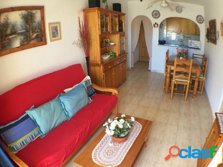 Bonito piso de 2 dormitorios, con terraza, a 150m de la playa en una zona tranquila de Guardamar.