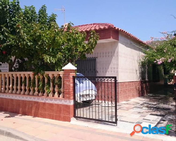 Típica casa de verano española