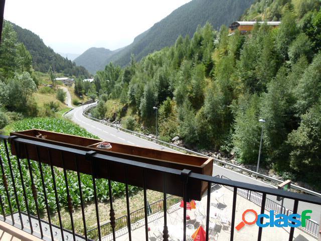 Vista al valle de arinsal