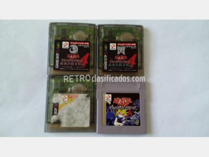 Se vende gameboy yu-gi-oh! duel monsters lote
