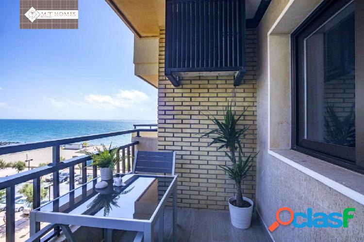 Espectacular apartamento frente al mar - boliches