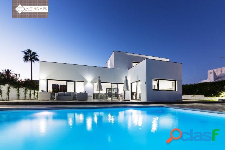 Moderna villa de lujo independiente - alquiler larga temporada