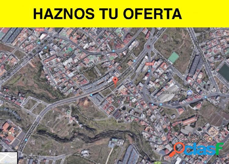 Terreno urbano en el sobradillo, procedente de entidad bancaria, con financiación preferente!!!