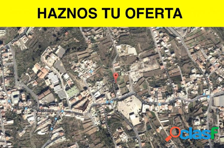 Terreno urbano en icod, procedente de entidad bancaria, con financiación preferente!!!!!