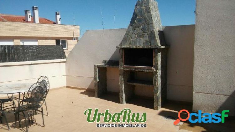 Venta precioso atico duplex con garaje y trastero zona san pedro