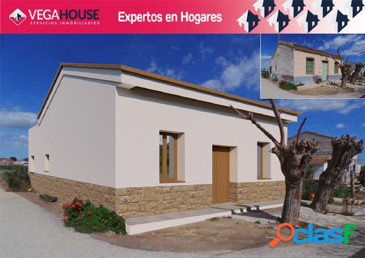 Casa mediterránea con terreno 2200m2