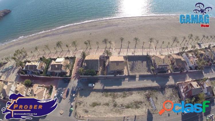 Parcelas en 2ª Linea de Playa en Puerto de Mazarron