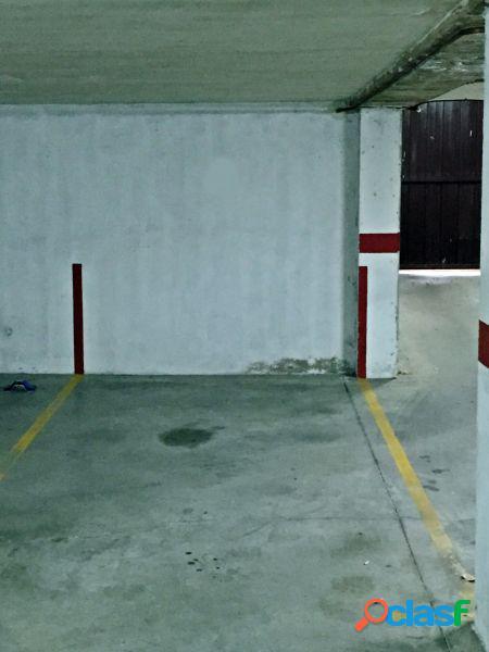 Plaza de garaje en san lorenzo