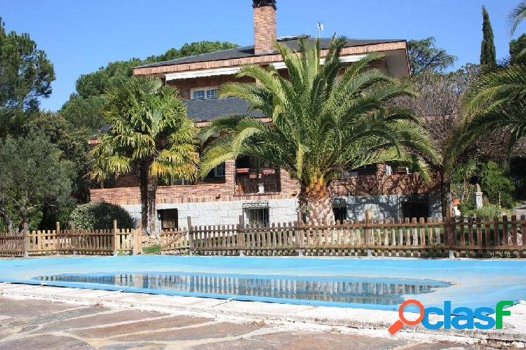 Chalet independiente en las lomas