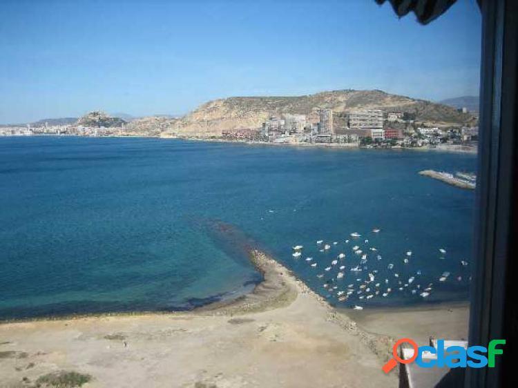 Cabo huertas 1ª linea del mar, fantasticas vistas, reformado