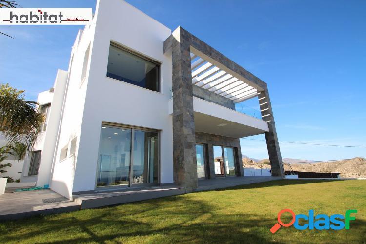 Villa independiente lujo obra nueva