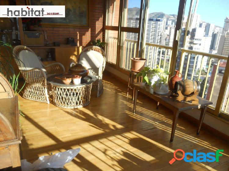 Atico 115 m2. 4 dorm. 2 baños. duplex. vistas. piscina, pk y garaje opcional.
