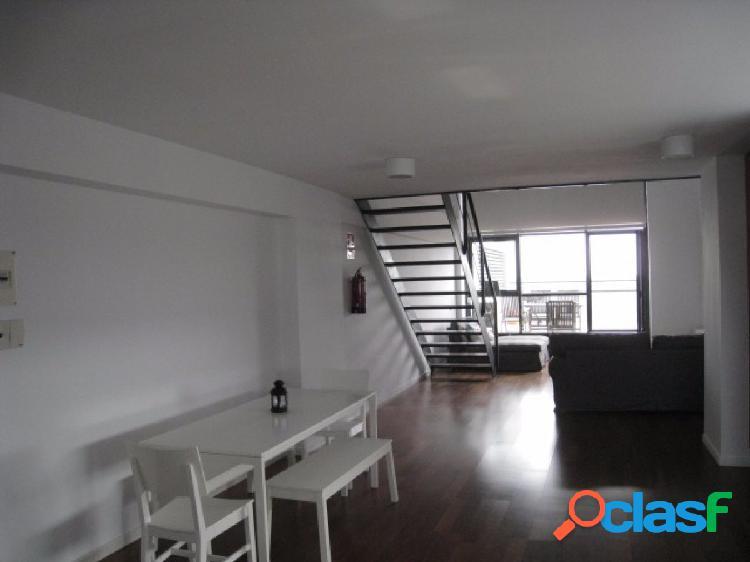 Excelente ático – loft con las mejores vistas del norte de madrid. garaje incluido.