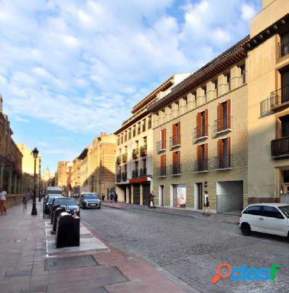 Obra nueva. casco histórico, junto pl santo domingo, pisos con garaje y trastero