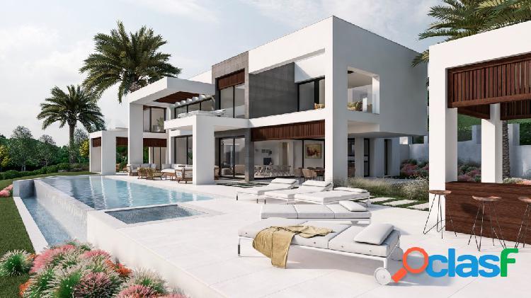Villa de diseño contemporáneo en la cerquilla, nueva andalucía