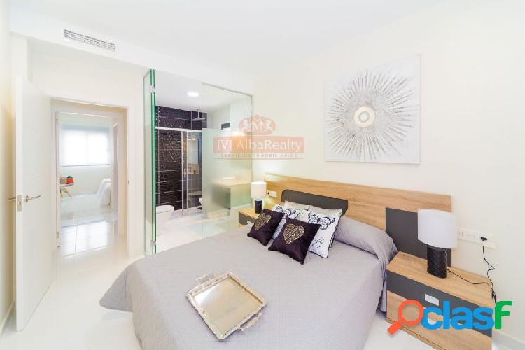 ¡disfrute de la playa en orihuela! pisos obra nueva 2 habitaciones solarium con barbacoa