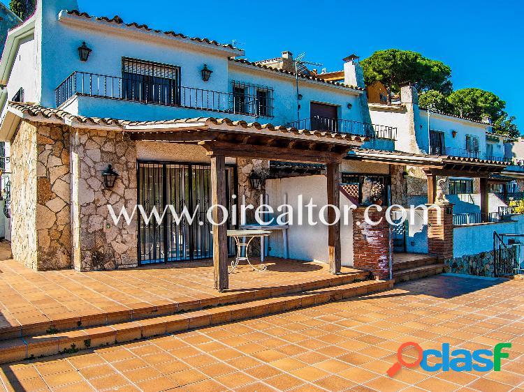 Acojedora casa en Cala Caneylles en Lloret de mar 2