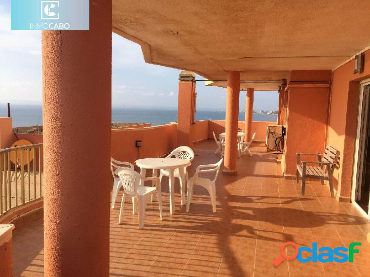 Impresionante ático en la manga del mar menor con más de 200m2 de terrazas con vistas
