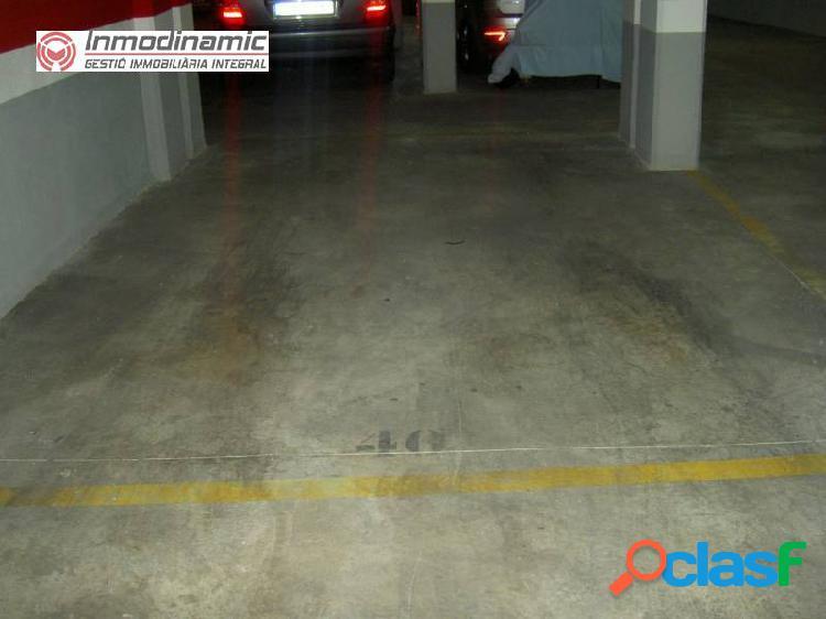 Plaza de Parking ideal para coche y moto
