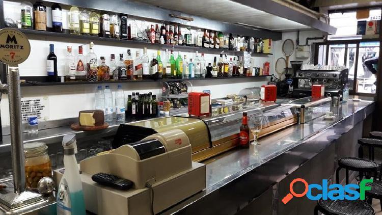 Bar restaurante en traspaso licencia c3 zona sant gervasi