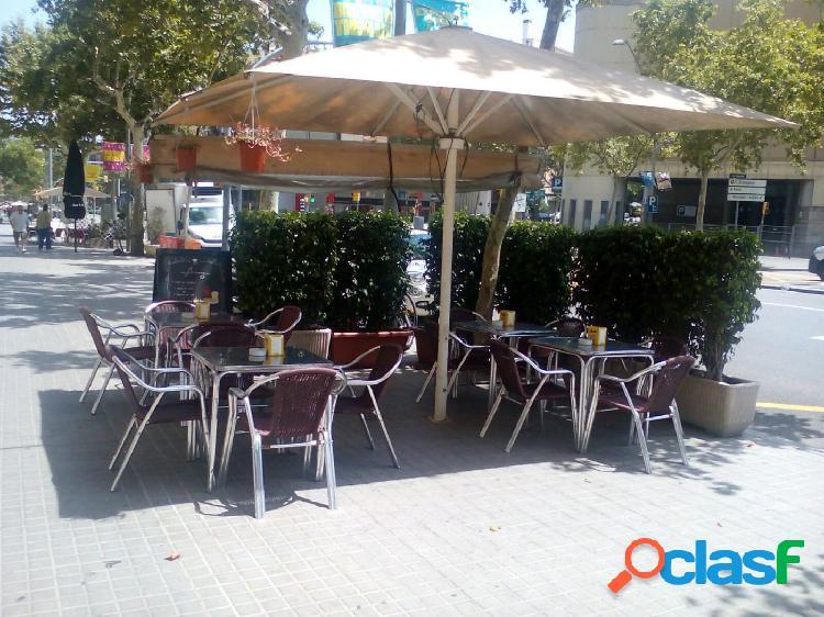 Bar restaurante en traspaso zona paral-lel licencia c3