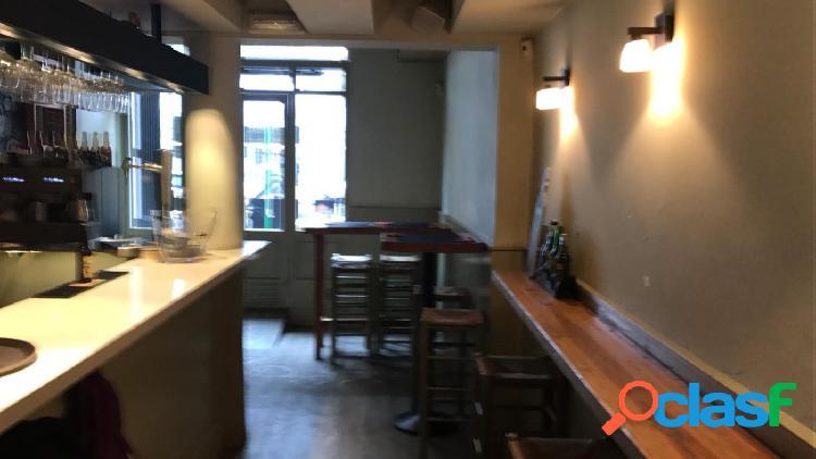 Oportunidad!!!! bar restaurante en traspaso zona la nova esquerra del eixample licencia c3