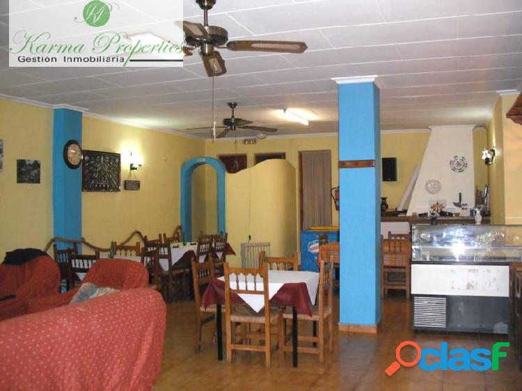 Hotel-Restaurante-Vivienda en Castell de Castells