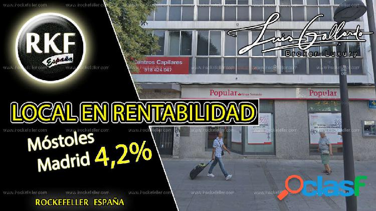 Venta local comercial - centro, móstoles, madrid [218644/local rentabilidad]