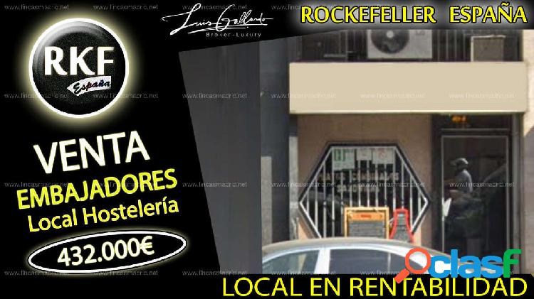 Venta local comercial - embajadores, centro, madrid [219892/local rentabilidad]