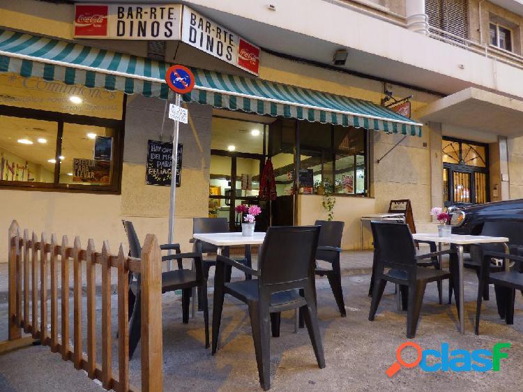 Restaurante en pleno funcionamiento y con licencia de actividad en activo