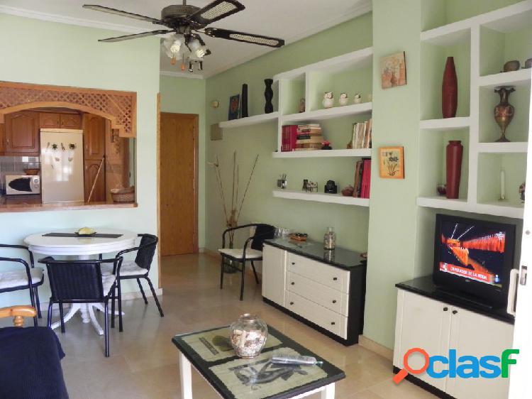 Apartamento en primera linea de playa con garaje doble