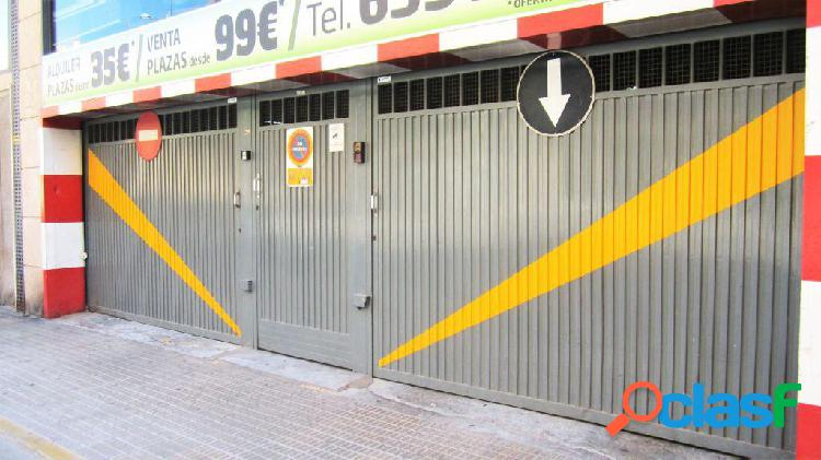 PLAZAS DE PARKING EN ZONA ESTE DE CASTELLÓN 1