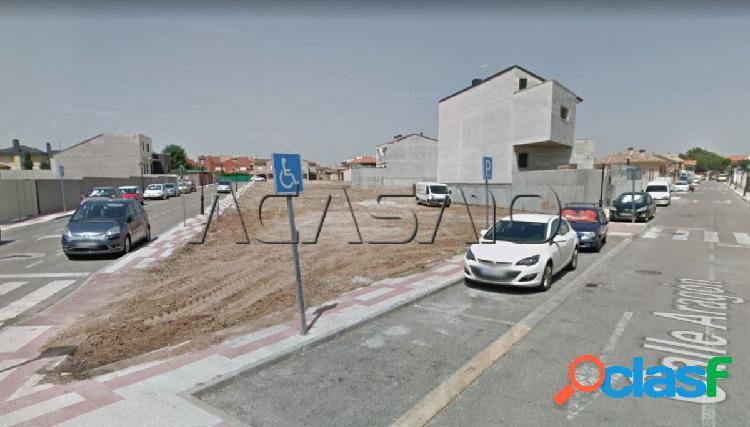 Parcelas urbanas totalmente recepcionadas junto a inem y carretera de ugena